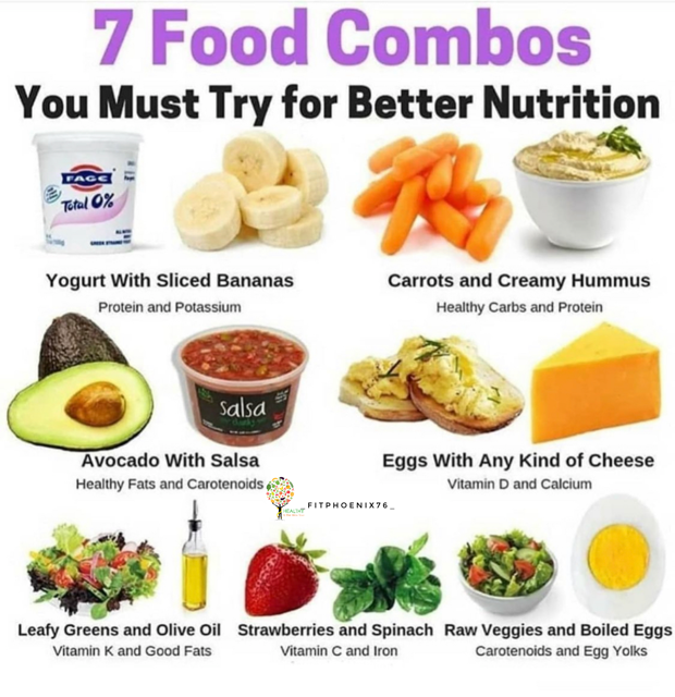 7 Better Food Nutrition Combos