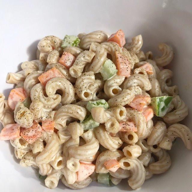 Guilt Free Macaroni Salad