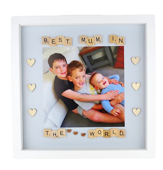 "12""x12"" Special Occasion Scrabble Frame"