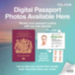 Fujifilm Digital Passports Social Media