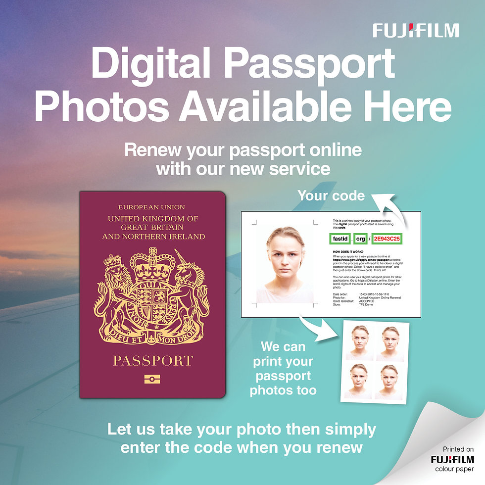 Fujifilm Digital Passports Social Media