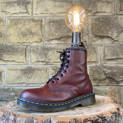 The Red Dr Marten