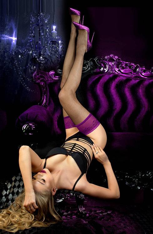 Ballerina 511 Black/Granata