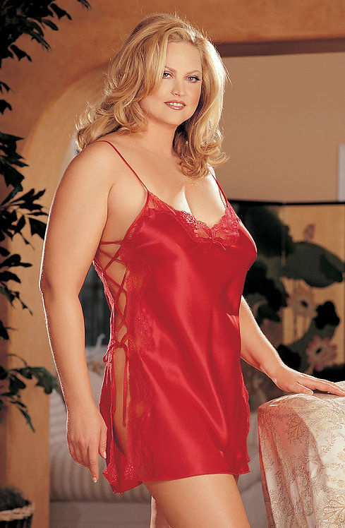 Shirley of Hollywood Chemise Red
