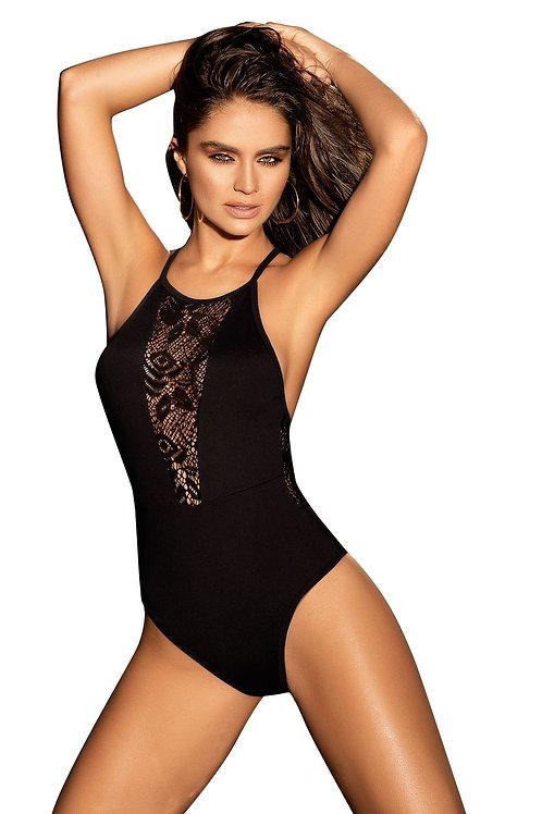 Mapale Black One Piece Swimsuit