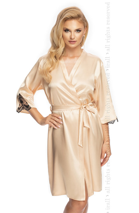 Irall Mallory Dressing Gown Champagne