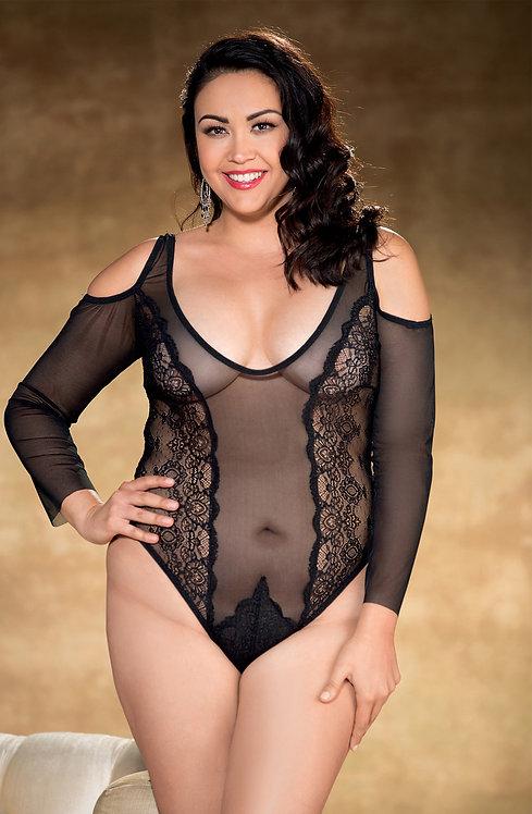 Shirley of Hollywood Black Teddy