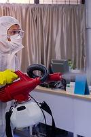 Disinfecting spray anti Corona virus in