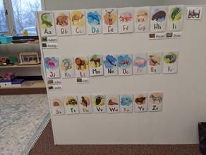 Teaching the Alphabet at Monarch