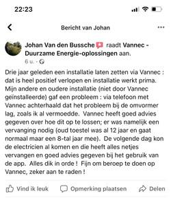 Vannec Recensie Oostkamp