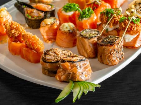 Sushi low carb: para comer sem culpa.