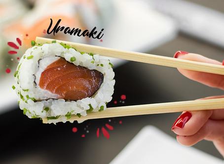 Conheça os diferentes tipos de sushi.