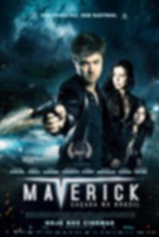 CARTAZ DO FILME MAVERICK EMELIANO RUSCHEL