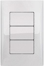 3 Interruptores Simples Brilho