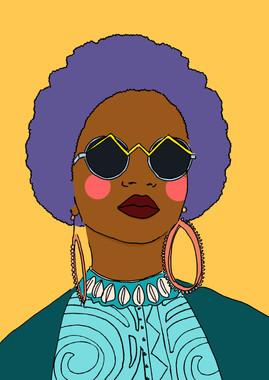 Maite Prince - Afropunk shades portret