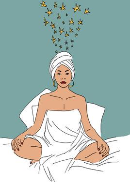 Maite Prince - Clear mind sade illustration