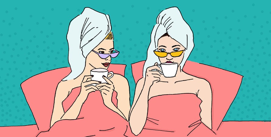 Maite Prince - Spill the tea illustration