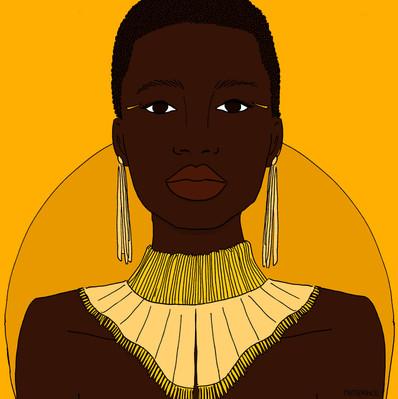 Maite Prince - sunny girls illustrations