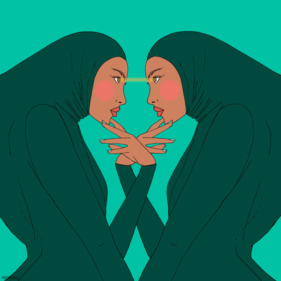 Maite Prince - pastel twins illustrations
