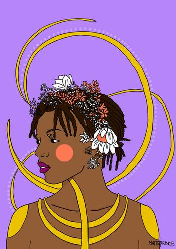 Maite Prince - Oshun right portret