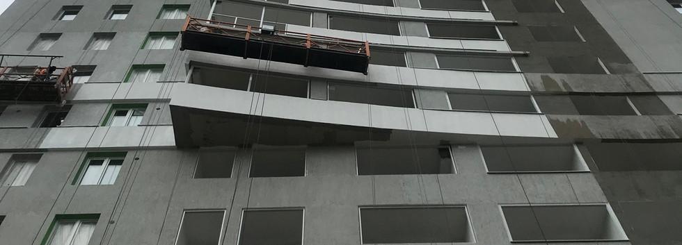 вид на фасад со стороны улица вишневая