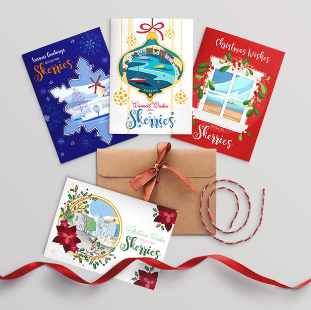 A5 Christmas Cards Available