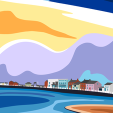 'Harbour View' Print