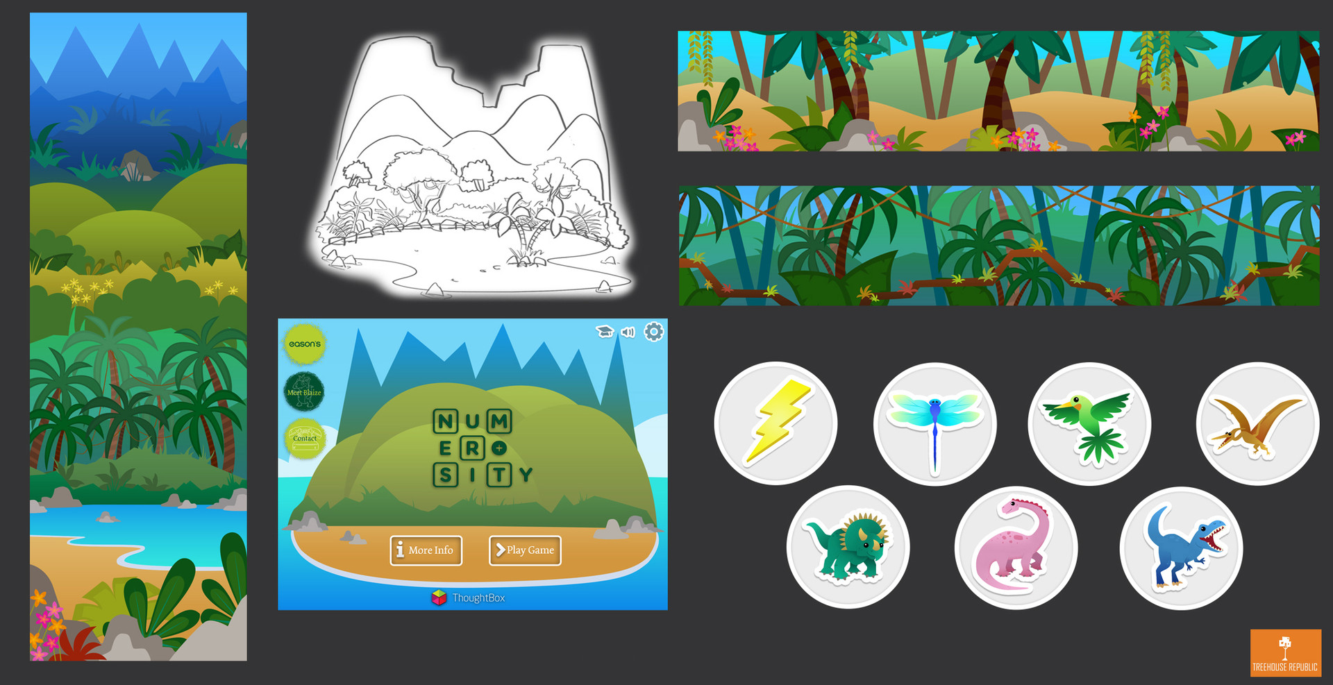 Game Art & Concepts- 'Numerosity'