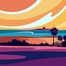 'Sundown' Print