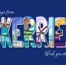 Skerries Postcard (blue)
