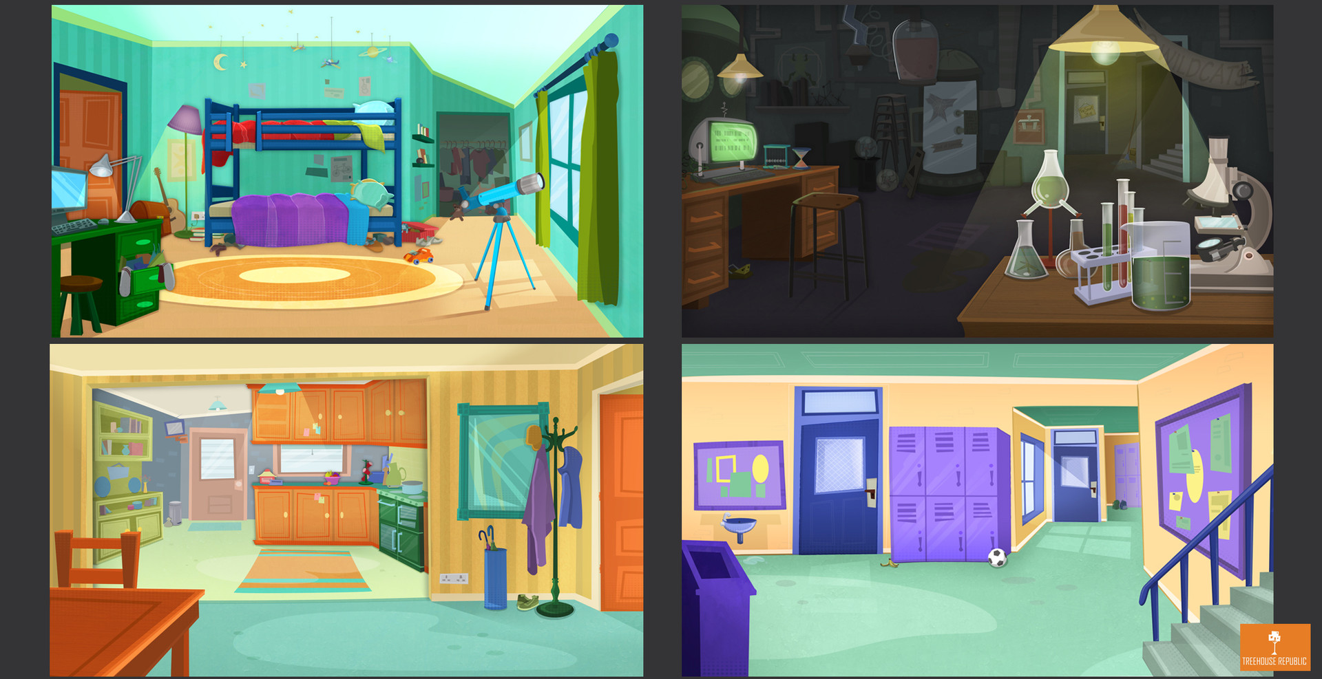 Animated Series Concepts