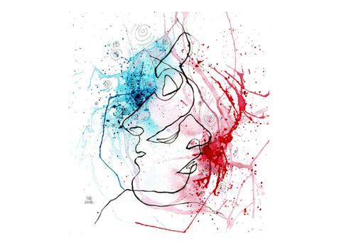 DRAWING(watercolors, ink)