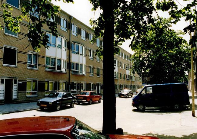 Sociale woningbouw Den Haag.