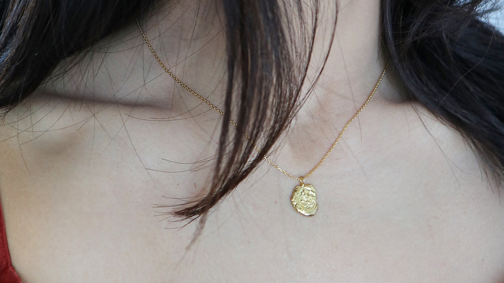 SGN40 Vintage Coin Necklace
