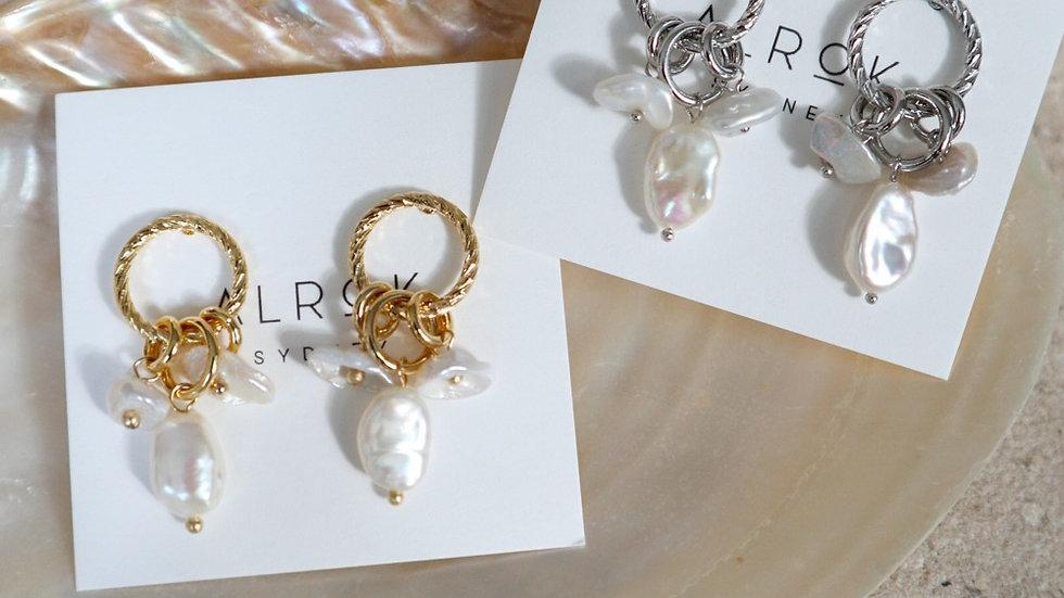 Doran Pearl Earrings