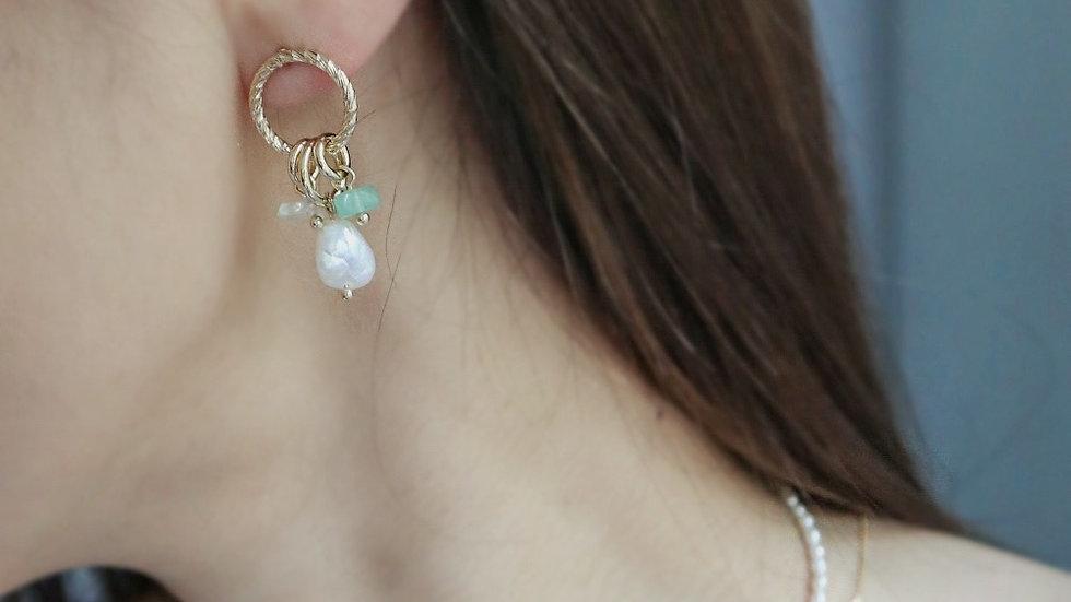 Jasmine Pearl Earrings