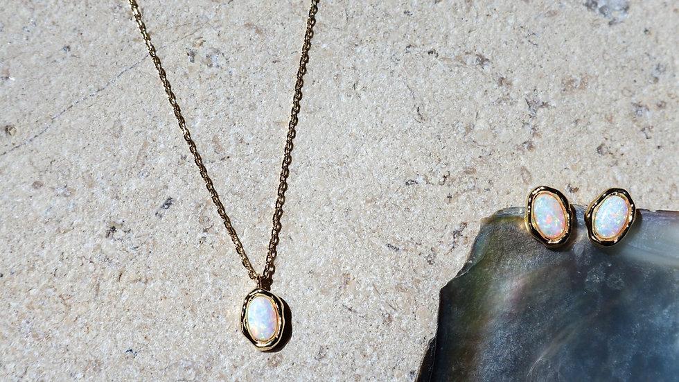 Opal Silver Set