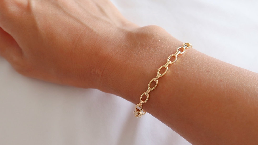 Simple Chain Bangle