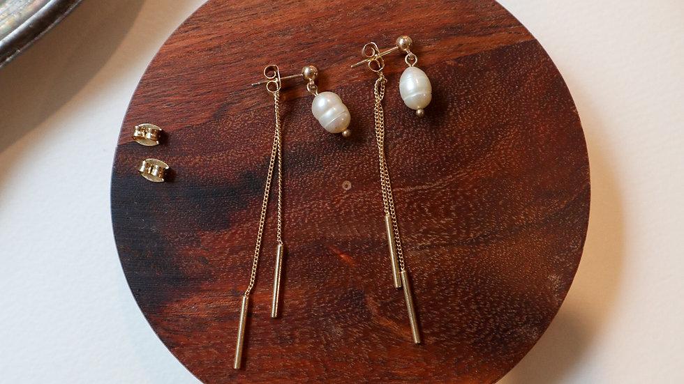 Dabin Pearl Earrings