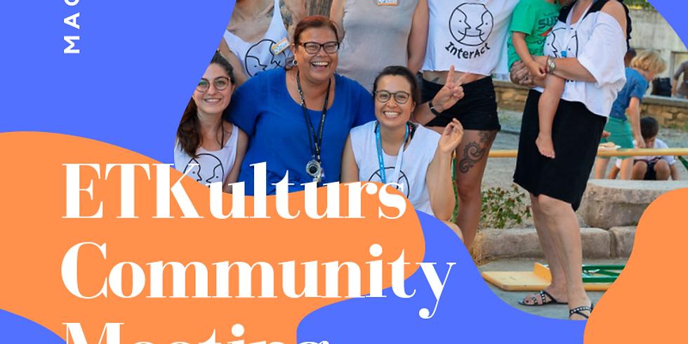 ETKulturs Community Meeting