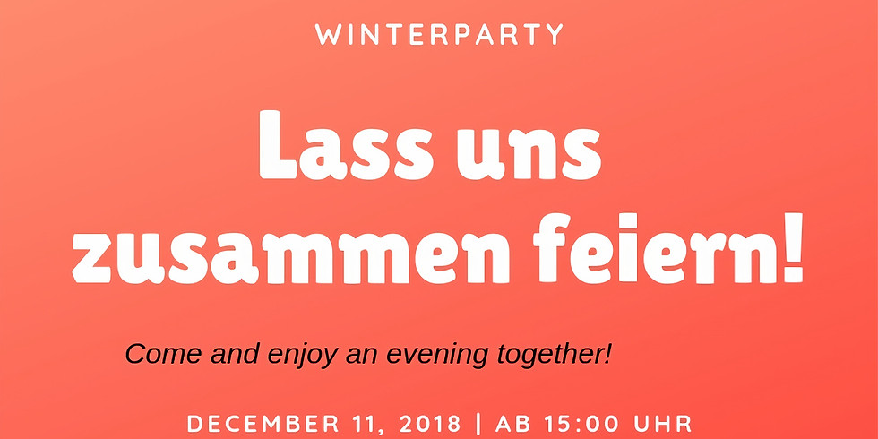 Lass uns zusammen feiern!