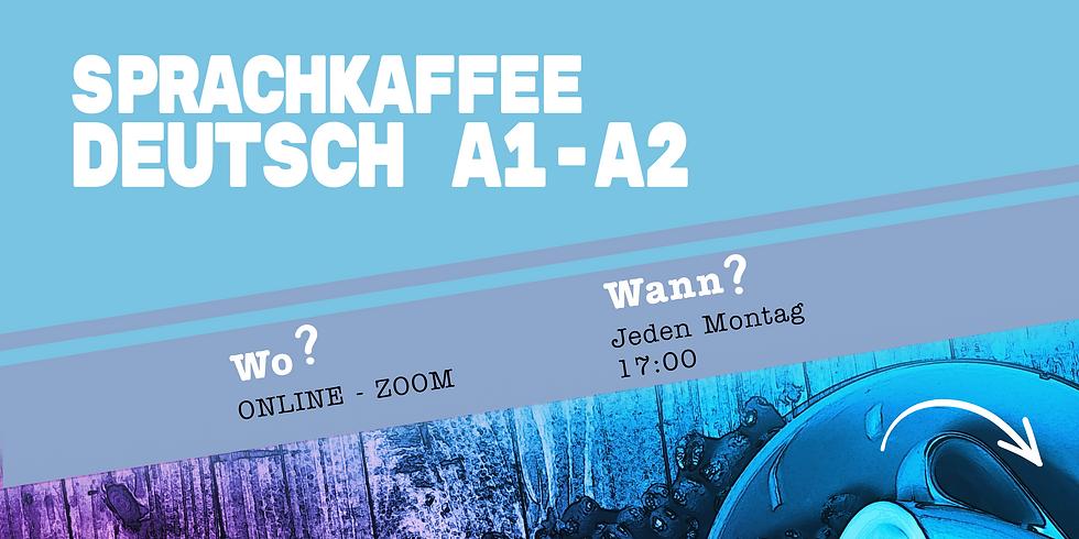 Sprachkaffee Deutsch A1-A2 ONLINE