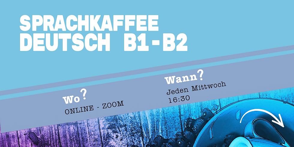 Sprachkaffee Deutsch B1-B2 ONLINE