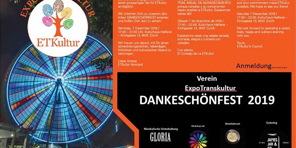 Dankeschoen Fest 2019!