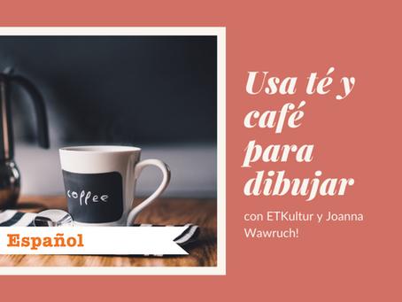 Usa té y café para dibujar con ETKultur