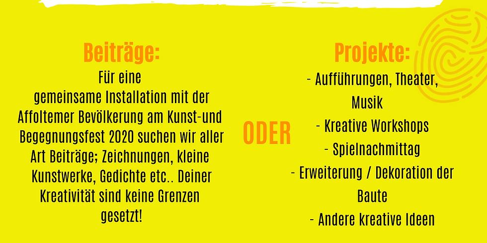 Open Call: Kunst- und Begegnungsfest in Zurich Affoltern