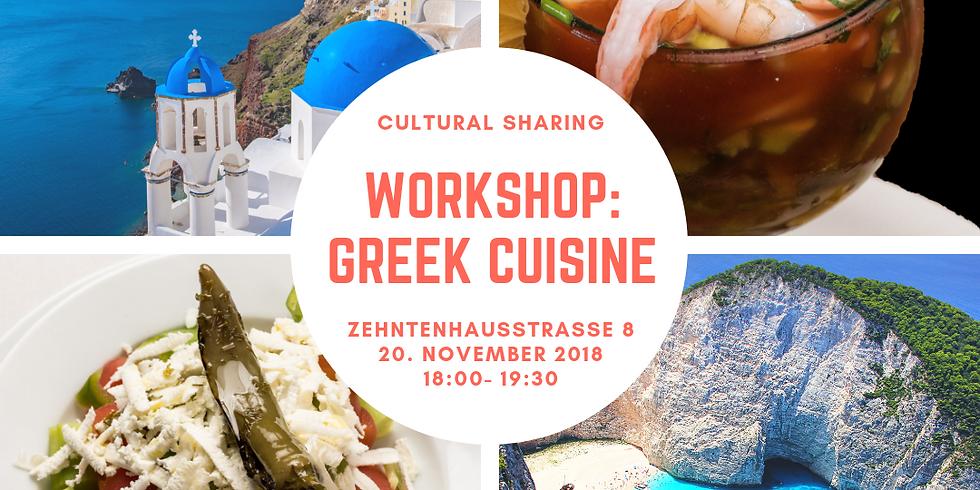 Cultural Sharing: Griechische Küche