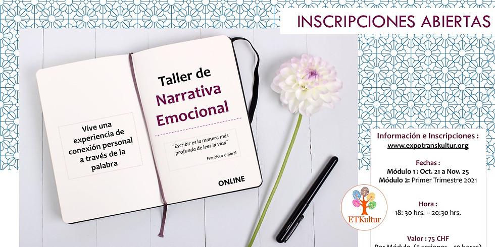 Taller de Narrativa Emocional (Auf Spanisch)