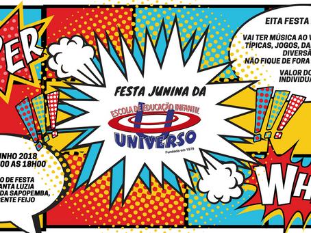 Festa Junina da Universo!