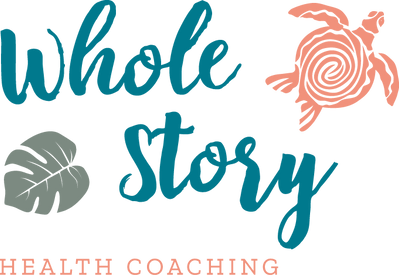 Whole Story Health Coaching Logo & Branding Support